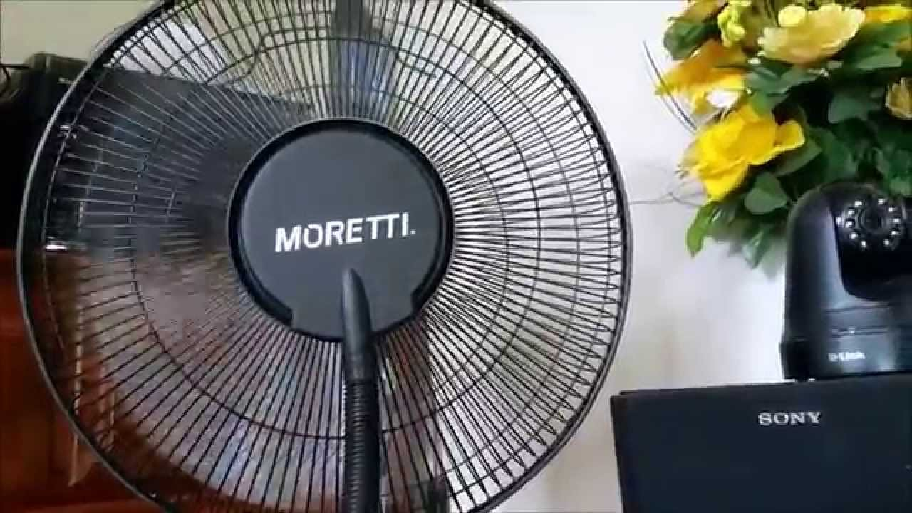 Indoor Misting Fan : Misting fan indoor moretti youtube