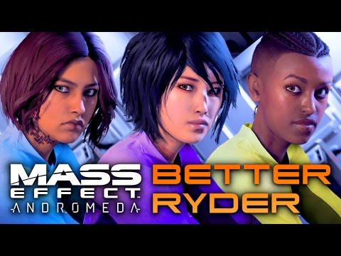 ✨3 AMAZING FEMALE RYDER FACES - AND HOW TO MAKE THEM! (Mass Effect: Andromeda🚀)