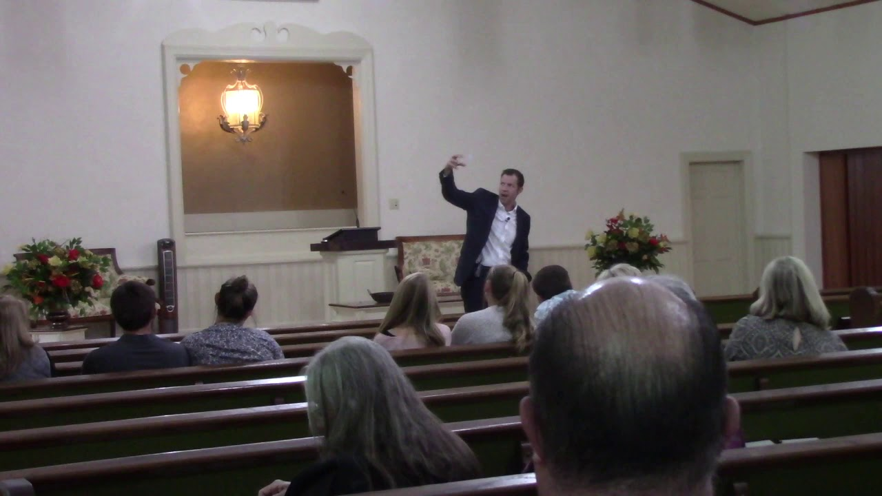Second session with Kyle Butt of Apologetics Press