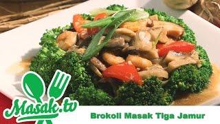 Brokoli Tiga Jamur | Resep #214