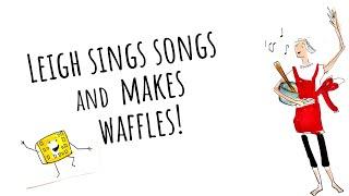 "Banana Oat Blender Waffles and ""Faithfully"" by Journey"