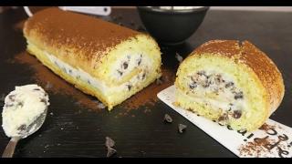 Rotolo con crema di ricotta e gocce di cioccolato: il dessert facile e goloso da provare!