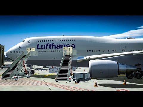 LSZH - EDDM Real Zurich Operating Hours. PMDG 747 v3
