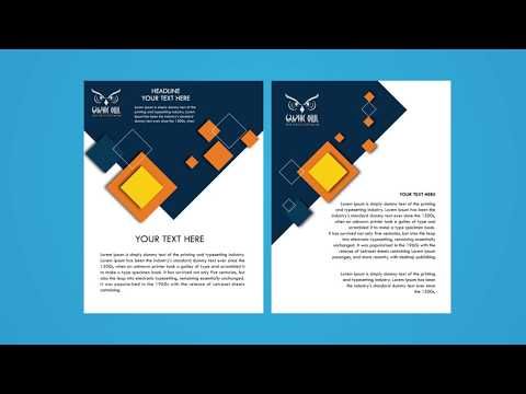 Corporate Flyer Design Tutorial thumbnail