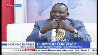 Politicians shift their focus to 2022 politics