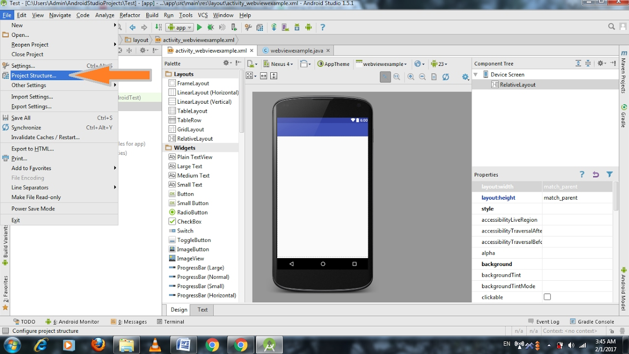 How To Add Libraries In Android Studio v4 v7 Appcompat