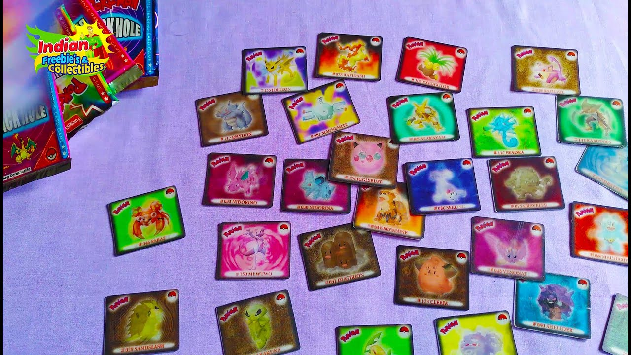 Cheetos Pokemon Motion or Lenticular Cards from India