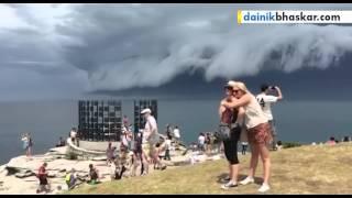 Massive 'Cloud Tsunami' Rolls Over Sydney