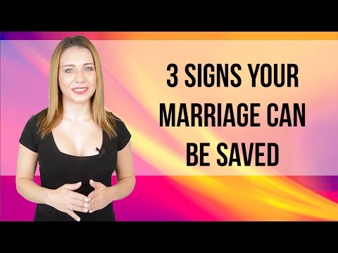 3 signs your marriage can be saved
