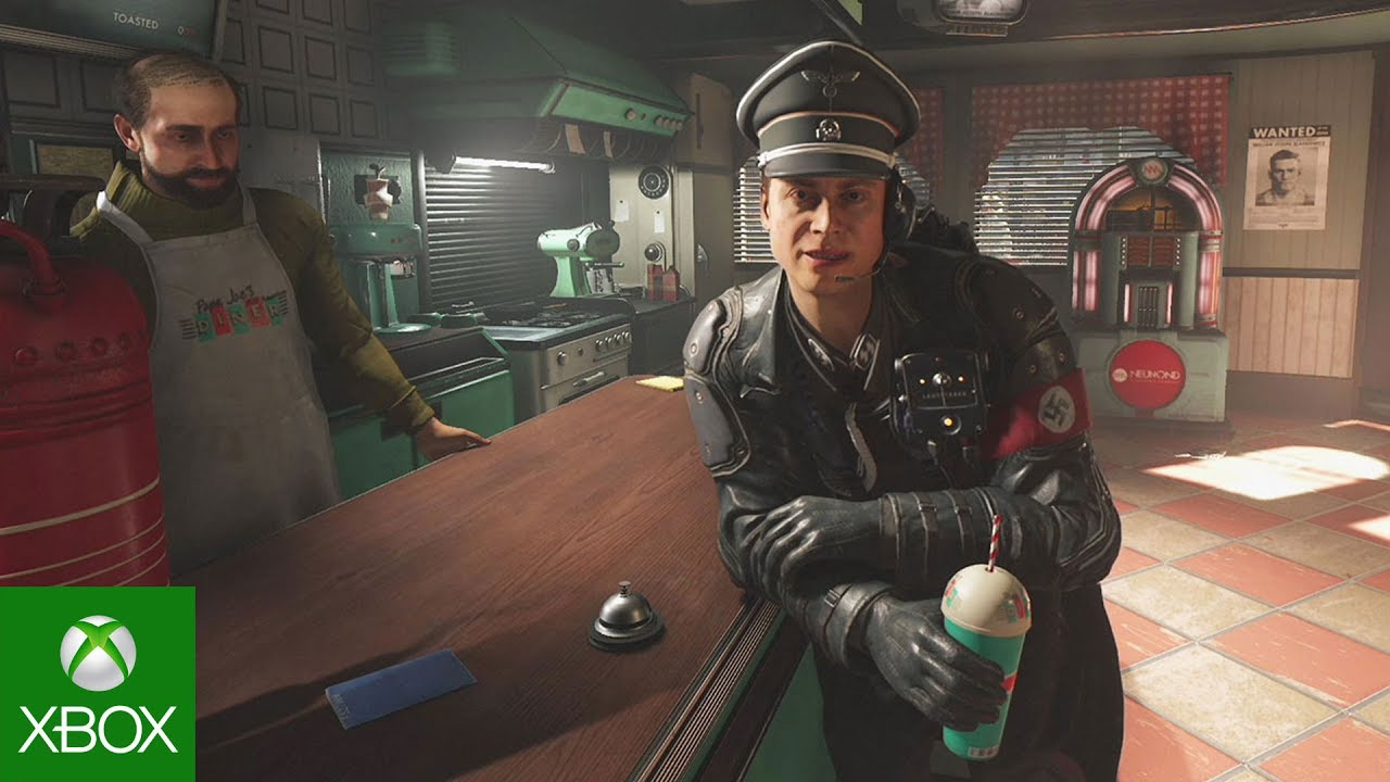 Wolfenstein II: The New Colossus - Strawberry Milkshake