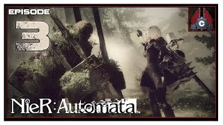 Let's Play Nier: Automata On PC (English Voice/Subs) With CohhCarnage - Episode 3