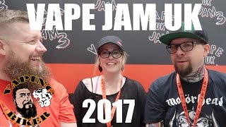 VAPE JAM UK 2017 - Including a Grimm Green & Ruby Roo interview!