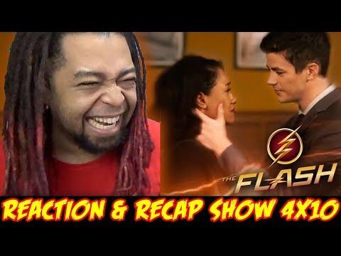 "THE FLASH SEASON 4 MID SEASON PREMIERE REACTION & RECAP SHOW!!! (4x10) ""The Trial of The Flash"""