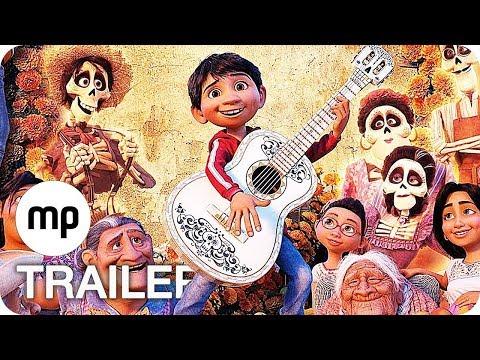 Coco Film Clips, Kurzfilm & Trailer German Deutsch (2017) Disney Pixar
