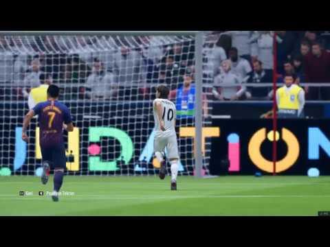 BAH?SNO1 FIFA 19 # BARCELONA - REAL MADR?D ETK?NL???