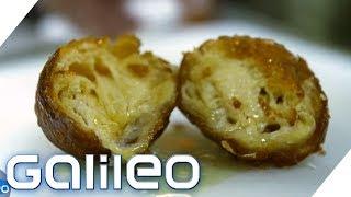 Frittierte Butter - Trendpotential oder Ekel-Faktor? | Galileo | ProSieben