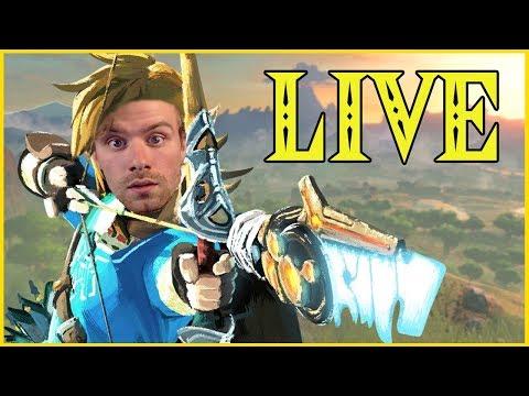 Good Evening Hyrule   MASTER MODE   Zelda Breath of the Wild Gameplay   Livestream