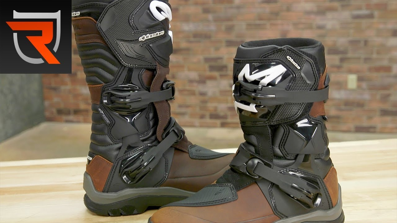 Alpinestars Corozal & Belize Adventure WP Motorcycle Boots Product Spotlight Review | Riders Domain