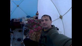 С ночевой на Восточном в палатке СТЭК КУБ 3