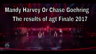 Mandy Harvey and Chase Goehring The Grand Finale Results AGT 2017 TOP 5 america got talent 2017