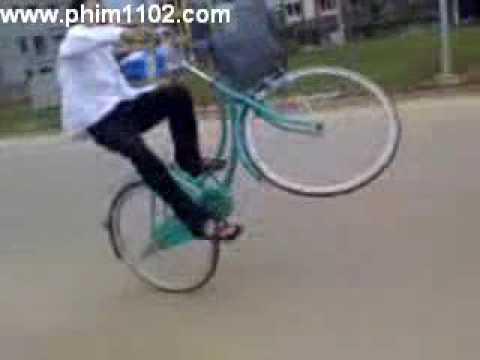 bốc đầu xe đạp mini www.phim1102.com