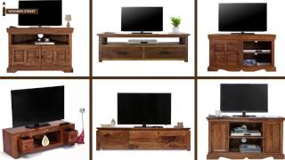 TV Unit Online - Buy Wooden TV Units from Wooden Street
