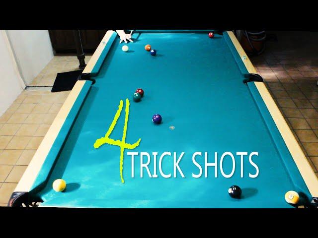 4 Pool Trick Shots