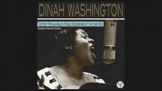 Dinah Washington - I Could Have Told You (1955)
