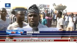 Benue Varsity Students Protest Killing Of Student By Herdsmen