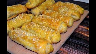 ПОСТНЫЕ Пирожки в духовке с картошкой и грибами ТЕСТО очень ТОНЕНЬКОЕ и ХРУСТЯЩЕЕ РЕЦЕПТ 351