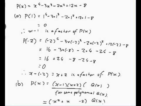 how to solve third degree polynomial