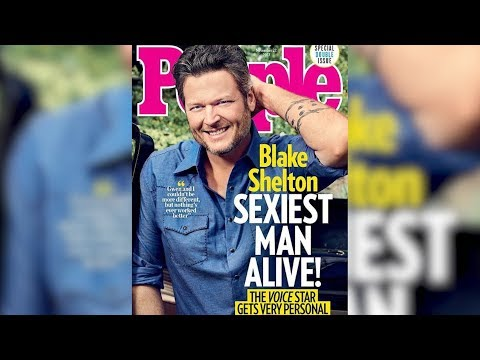 Blake Shelton Reads Mean Tweets About Himself Being Sexiest Man Alive