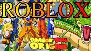 Roblox Dragon Ball Origins