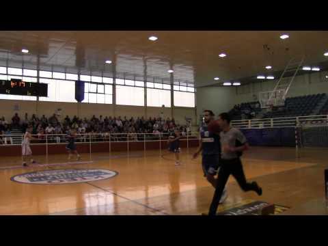 Ιωνικός Νικαίας   Ηράκλειο 79 66 Β Εθνική Μπάσκετ ΕΟΚ το Α δεκάλεπτο 3 11 2013