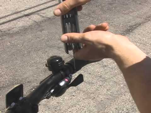 Firefly Handle Bar Grips with Built-In turn Signal Lights by RideOut Technologies