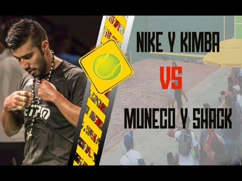 Conveniente vacante ganancia  NIKE Y KIMBA vs MUÑECO Y SHACK // PRIMER PARTIDO - YouTube
