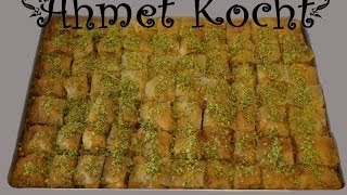 Rezept: Baklava | Ahmet Kocht | türkisch kochen | Folge 9