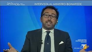 Bonafede (M5s): 'Da De Falco e dissidenti comportamenti irrensponsabili' thumbnail