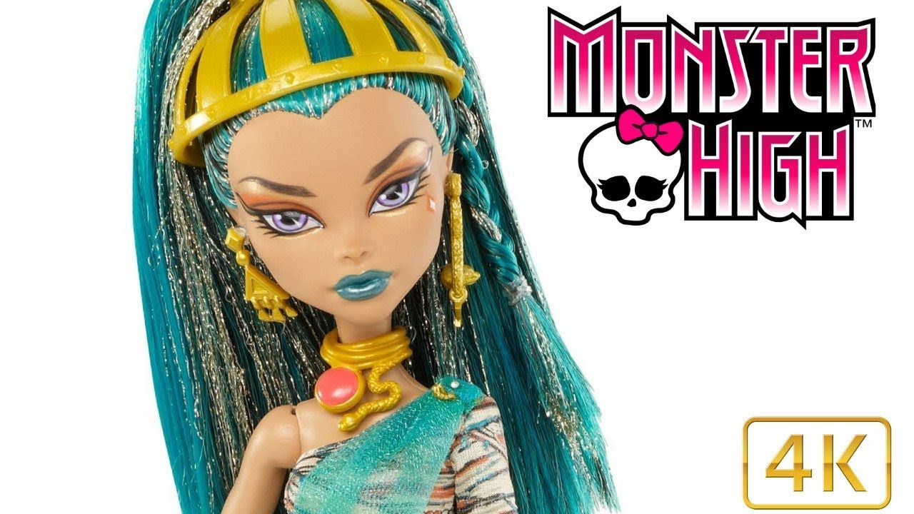 Monster High Nefera De Nile Doll Review Sister Of Cleo Daughter Of The Mummy 2017 4k Dolls