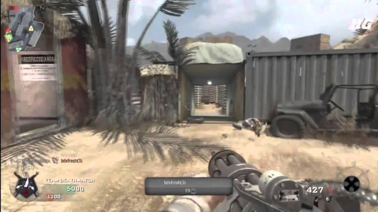 Call Of Duty Black Ops W Death Machine Killstreak Youtube