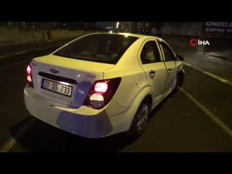 Diyarbakır'da alkollü sürücü terör estirdi