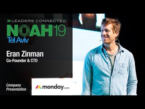 Eran Zinman, Monday.com - NOAH19 Tel Aviv