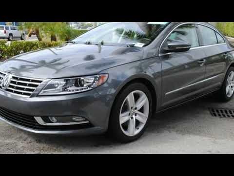 Certified 2016 Volkswagen CC Miami FL Coral Gables, FL #V7303