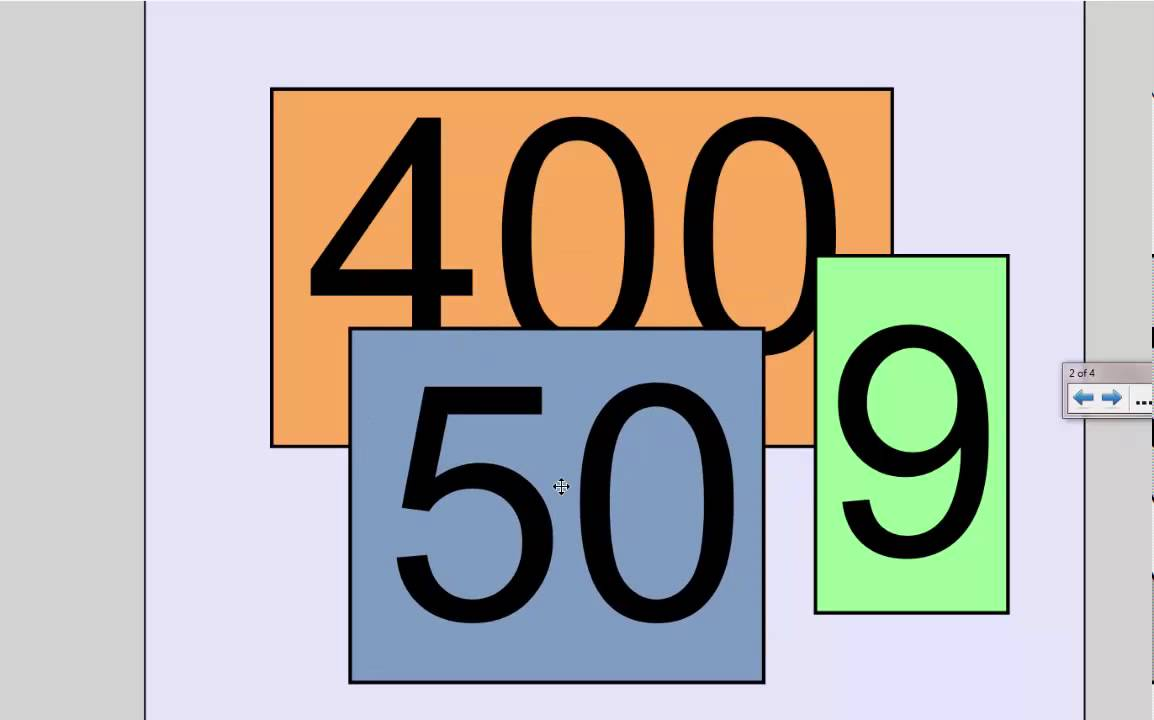 Place Value: Today's Number is 459 - Absolute Zero