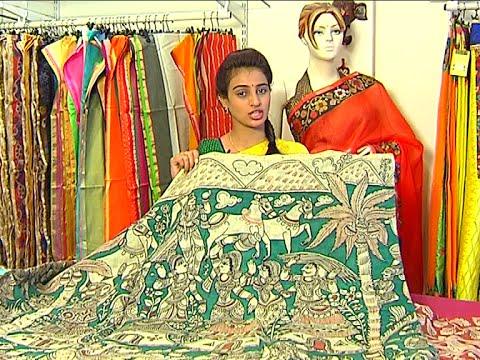 Latest Handloom Kalamkari Sarees and Dress Materials