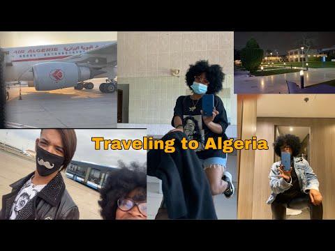 Traveling back to Algeria in the middle of a pandemic🦠(mini vlog)|| السفر الى الجزائر🇩🇿🇩🇿