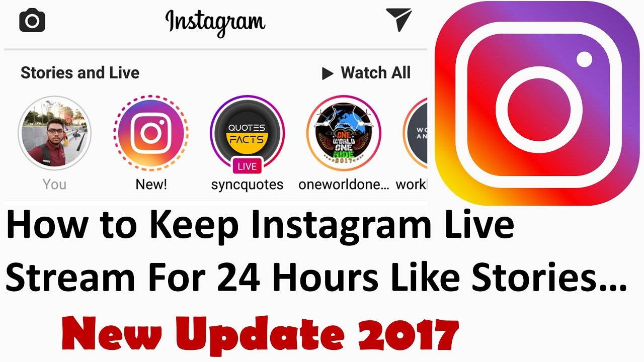 Instagram Live Videos Replay | How To Keep Live Stream For Next 24 Hours |  Instagram New Update