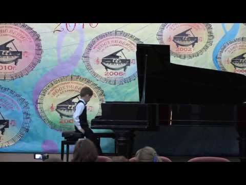 """06.2016 Rodion Shakirov in International Piano Competition """"Inspiration"""" in Volgodonsk"""