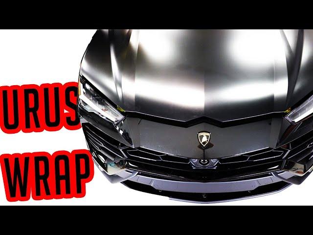 Lamborghini Urus Stealth Wrap