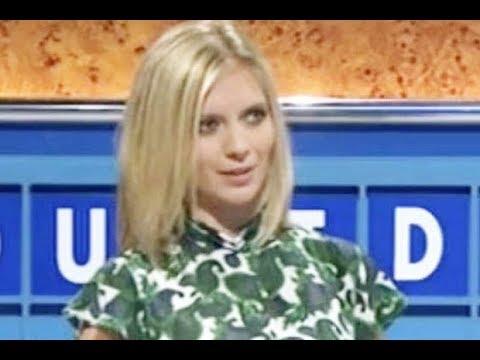 Download Countdown's Rachel Riley flaunts legs in VERY short mini dress